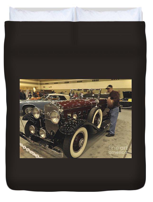 Duvet Cover featuring the photograph Classic by John J Calhoun