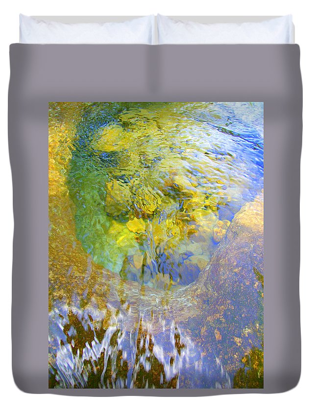 Texas Hill Country Duvet Cover featuring the photograph Clearly Spectacluar by Laurette Escobar