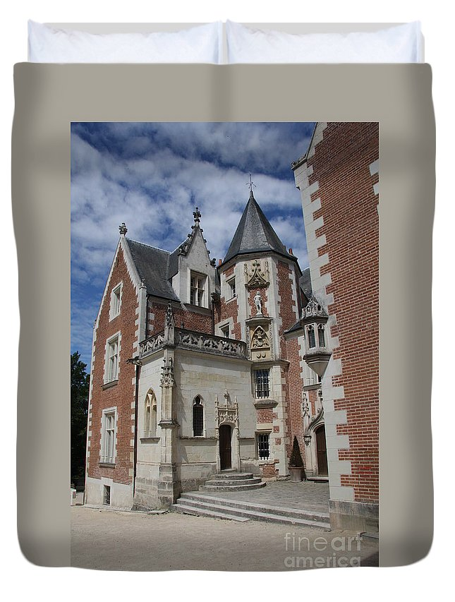 Leonardo Da Vinci Duvet Cover featuring the photograph Clos Luce - Amboise - France by Christiane Schulze Art And Photography