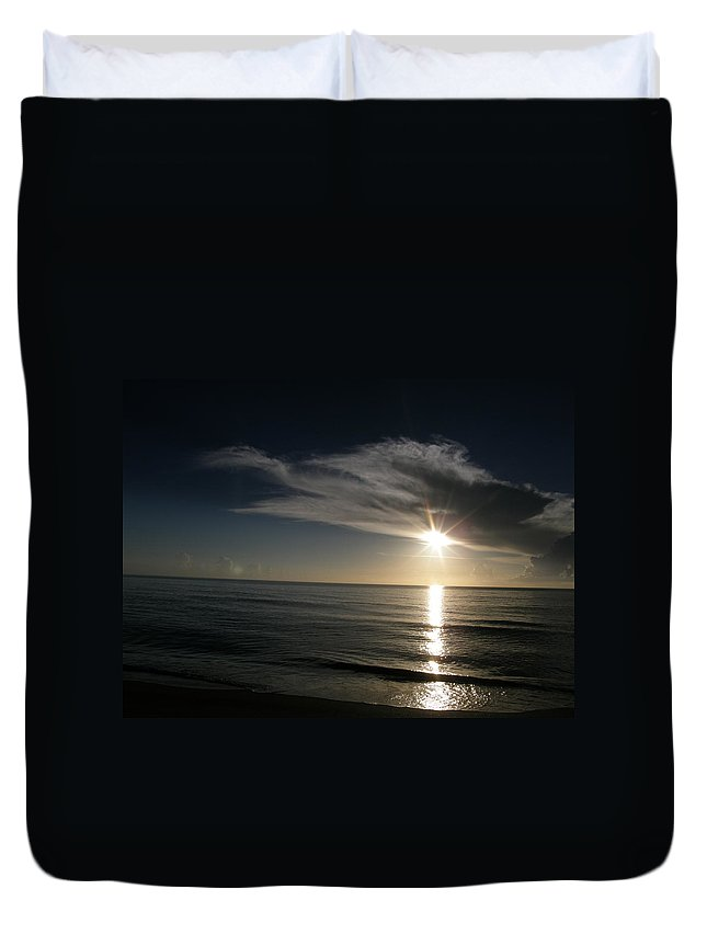 Duvet Cover featuring the photograph Cloud Cover by Kimberly Mohlenhoff