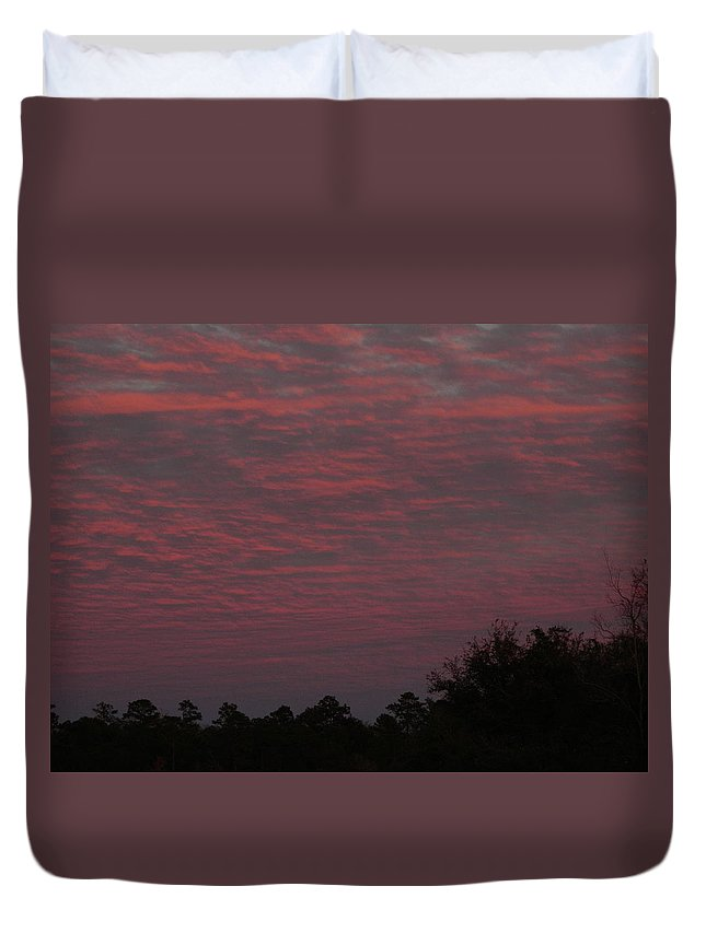 Sun Duvet Cover featuring the photograph Colorful Sky Number 1 by George Pedro