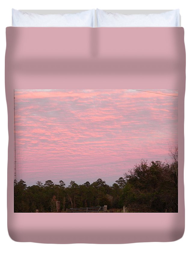 Sun Duvet Cover featuring the photograph Colorful Sky Number 2 by George Pedro