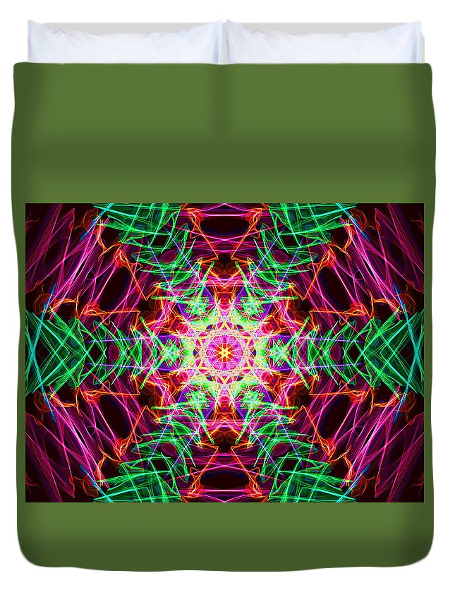 Tree Duvet Cover featuring the digital art Conservation by April Patterson