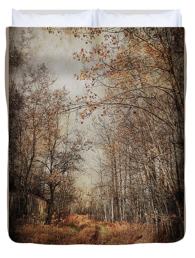 Country Duvet Cover featuring the photograph Country Smell Two by The Artist Project