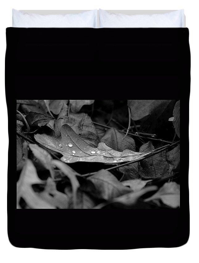 Drops Duvet Cover featuring the photograph Cradle by Viviana Nadowski