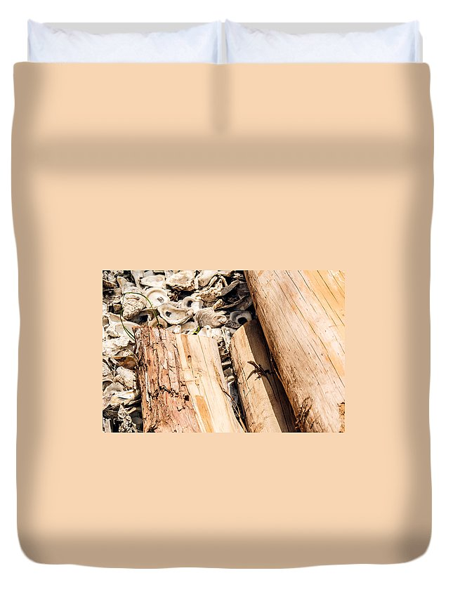 Critter Duvet Cover featuring the photograph Critter by Joedes Photography