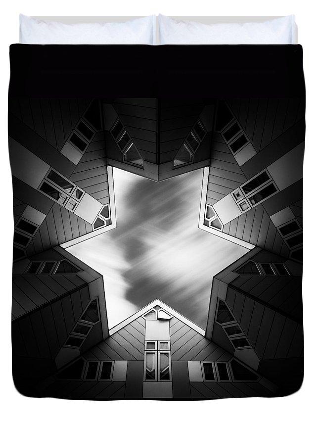 Cube House Duvet Covers
