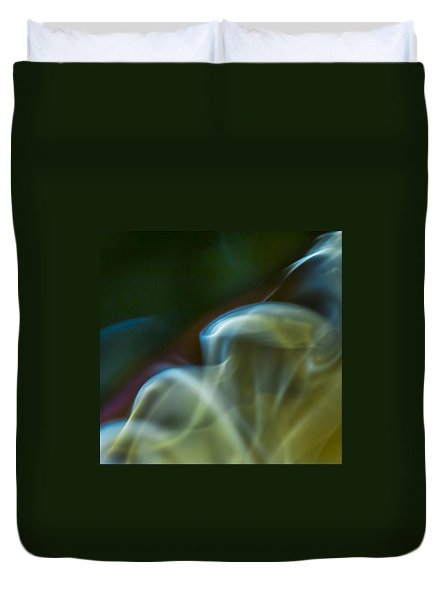 Ignition Duvet Cover featuring the photograph Currents by Steven Poulton