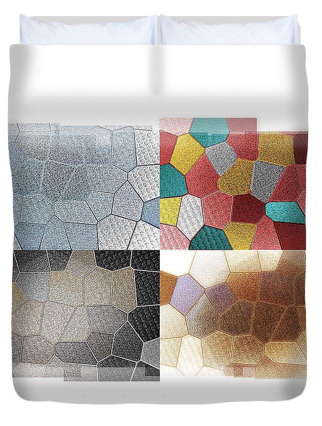 Dance Of Light Duvet Cover featuring the digital art Dance Of Light by Bill Cannon