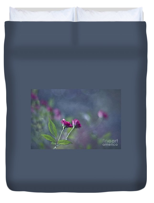 Rose Duvet Cover featuring the photograph Dancers Of Life by Maria Ismanah Schulze-Vorberg