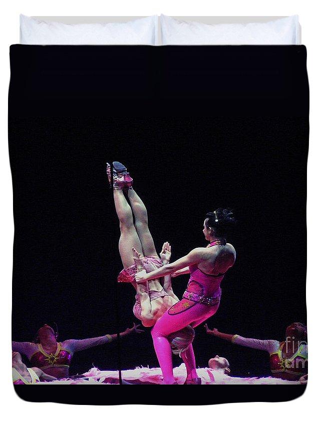 Dancers Duvet Cover featuring the photograph Dancin' by Kendall Eutemey