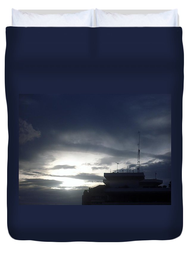 City Duvet Cover featuring the photograph Dar Es Salaam by Tuntufye Abel