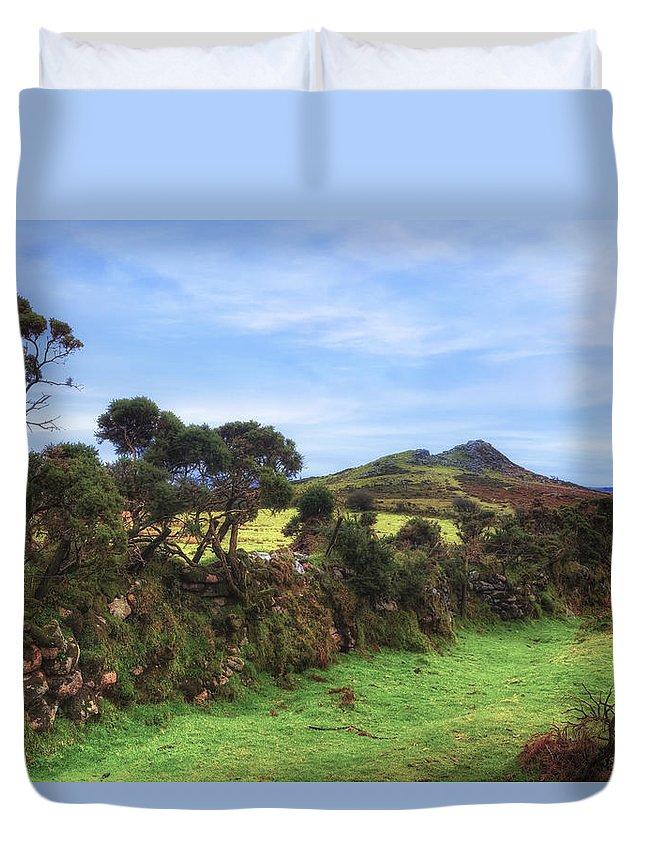 Dartmoor National Park Duvet Cover featuring the photograph Dartmoor by Joana Kruse