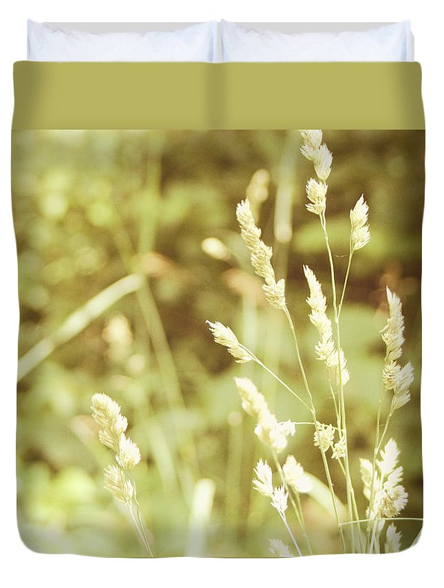 Nature Duvet Cover featuring the photograph Dawns Early Light by Rhonda Barrett