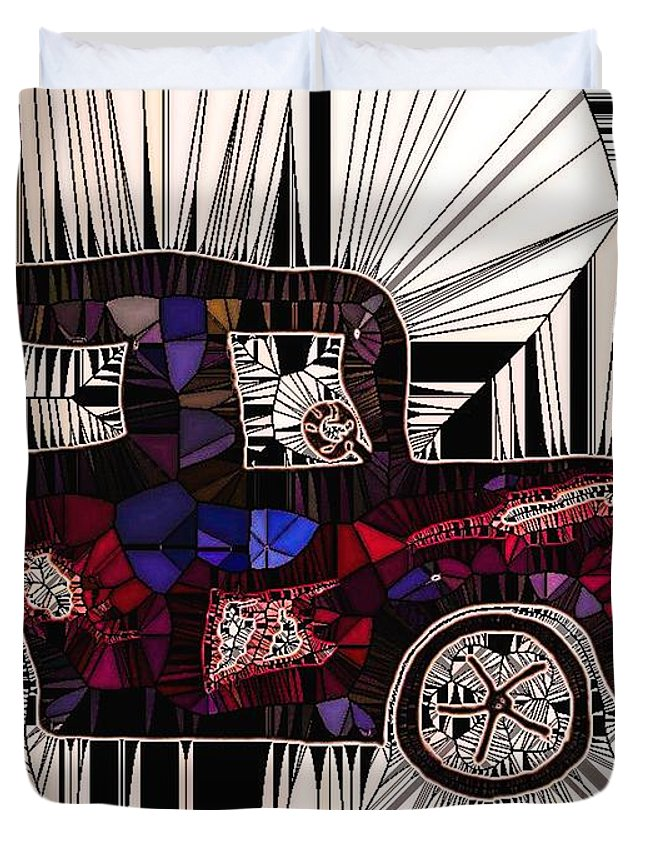 Car Duvet Cover featuring the photograph Days Gone By by Tina Vaughn