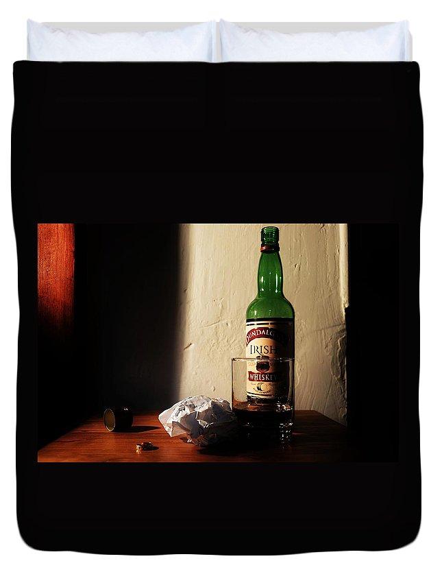 Dear Duvet Cover featuring the photograph Dear Thomas by Christina Walker