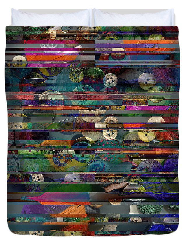 Lafuente Duvet Cover featuring the photograph Deconstructed Landscape In A Drawer by Begonia Lafuente