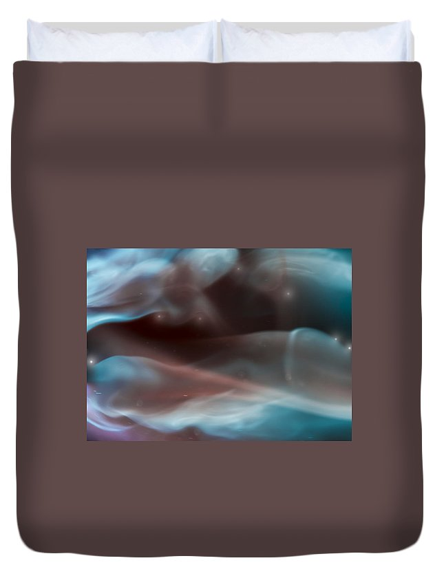 Ignition Duvet Cover featuring the photograph Deep Heat by Steven Poulton