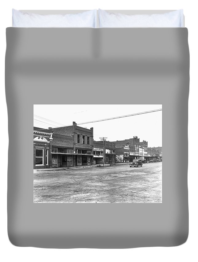 1938 Duvet Cover featuring the photograph Depression & Drought, 1938 by Granger