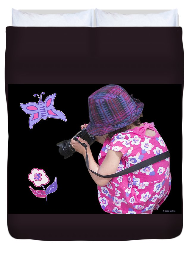 Photography Duvet Cover featuring the photograph Developing Imagination by Jo-Anne Gazo-McKim