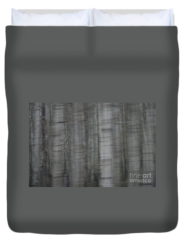 Abstract Duvet Cover featuring the photograph Ditto by Crystal Nederman