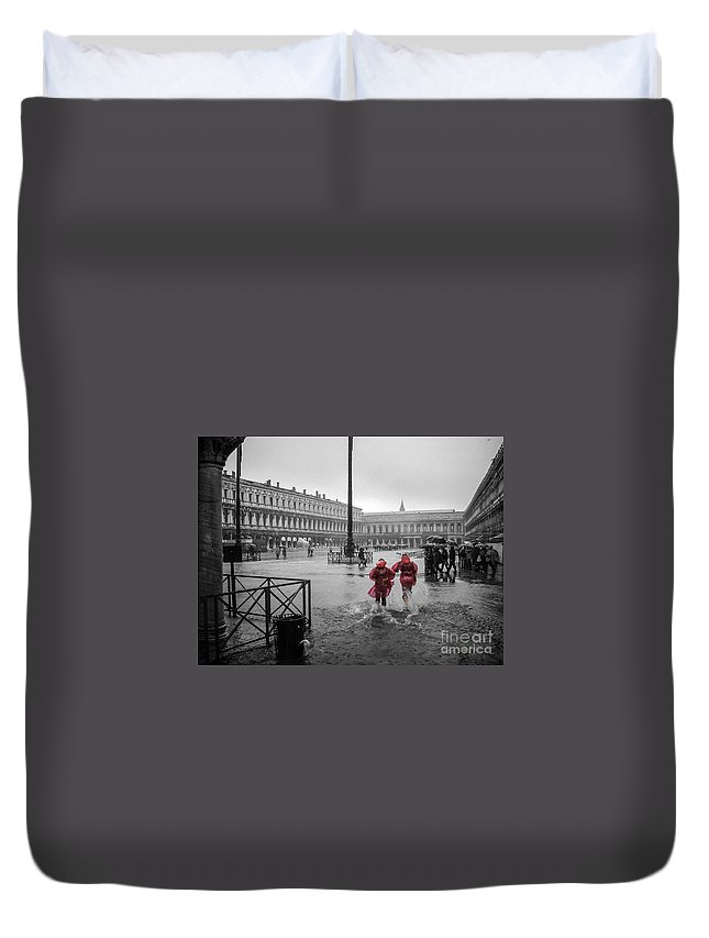 Love Duvet Cover featuring the photograph Don't Postpone Joy by Silken Photography