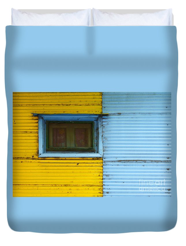 Door Duvet Cover featuring the photograph Doors And Windows Buenos Aires 15 by Bob Christopher