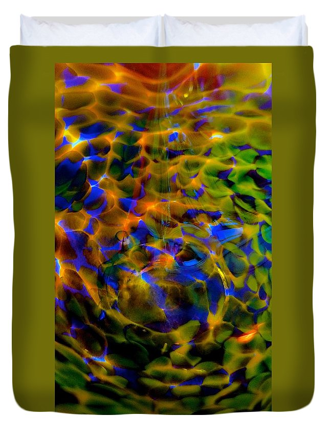 Glassware Duvet Cover featuring the photograph Dream Gathering by Tim G Ross