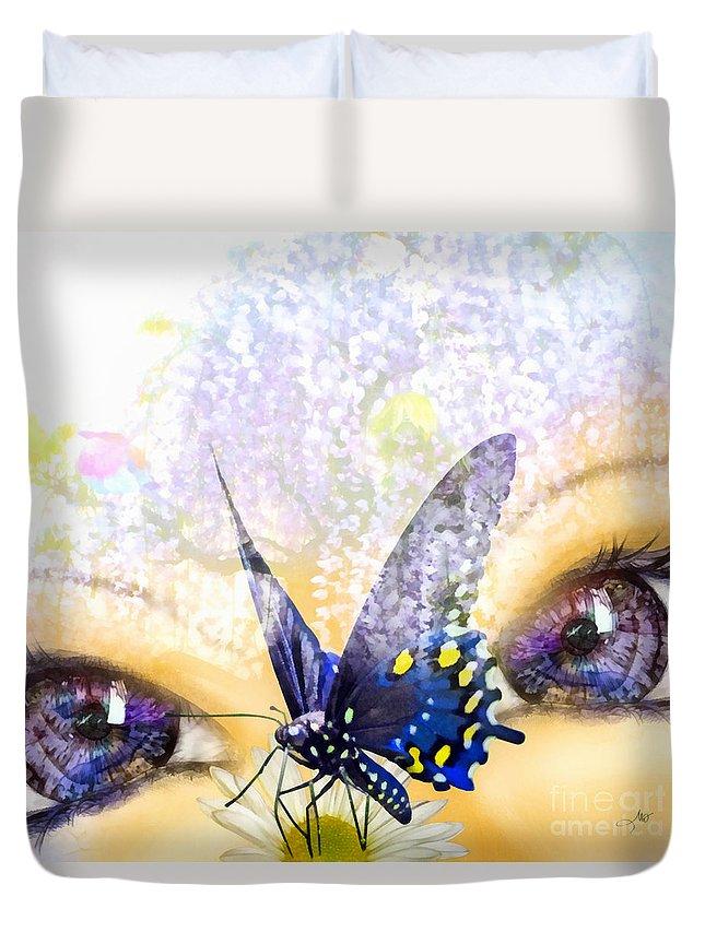 Dreams Duvet Cover featuring the digital art Dreams by Mo T