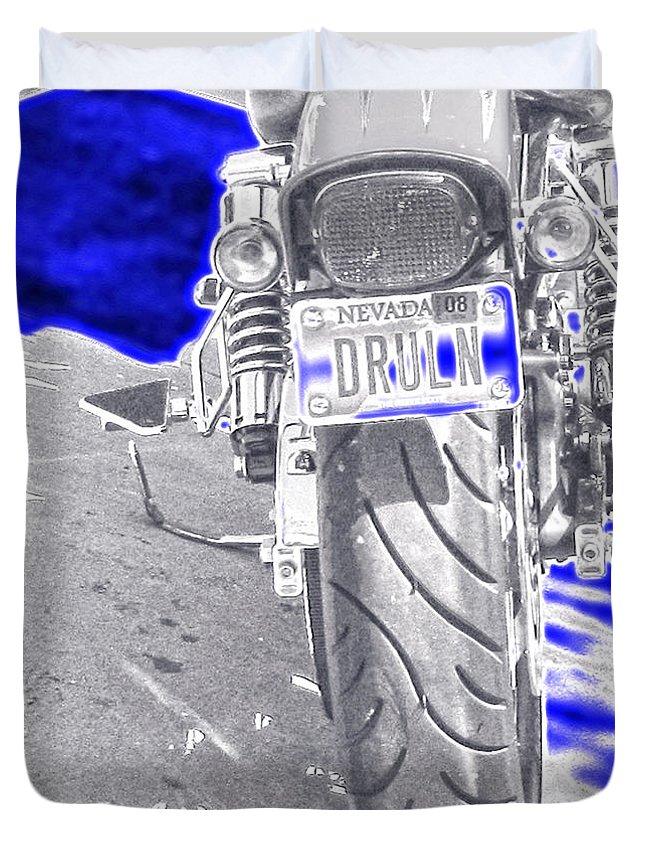 Art Duvet Cover featuring the photograph Druln by Mayhem Mediums