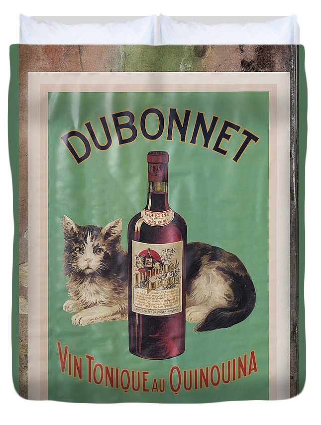 Dubonnet Duvet Cover featuring the photograph Dubonnet Wine Tonic Dsc05585 by Greg Kluempers