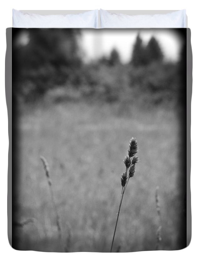 Nature Duvet Cover featuring the photograph Dust In The Wind by Rhonda Barrett