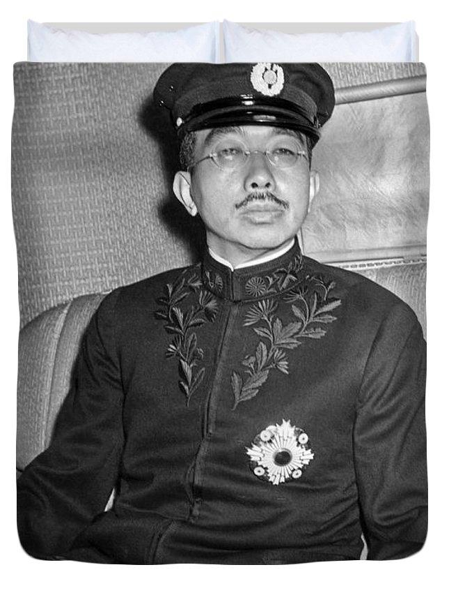 Emperor Of Japan Duvet Covers