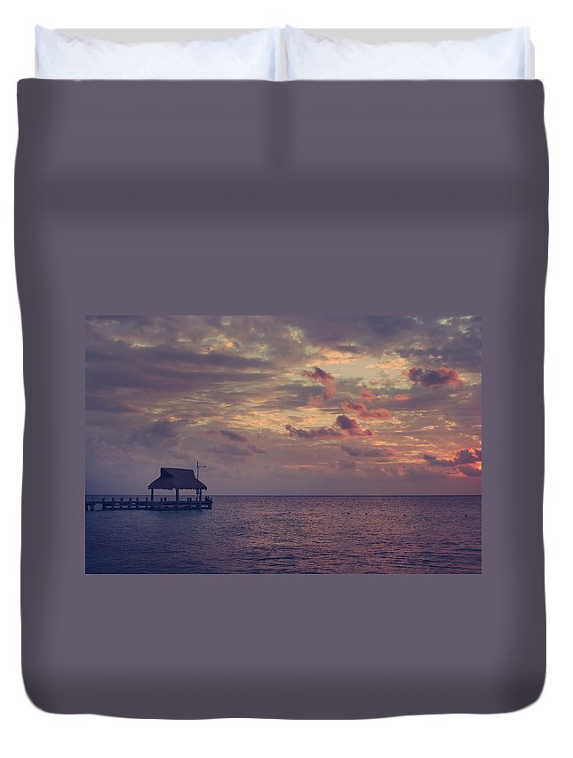 Cozumel Duvet Cover featuring the photograph Enchanted Evening by Laurie Search