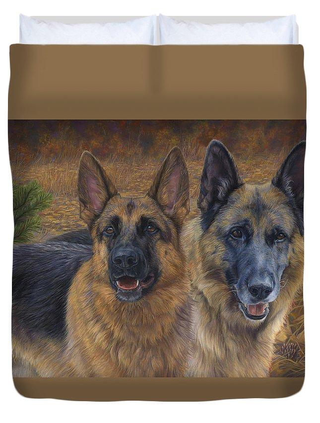 German Shepherd Duvet Covers Fine Art America