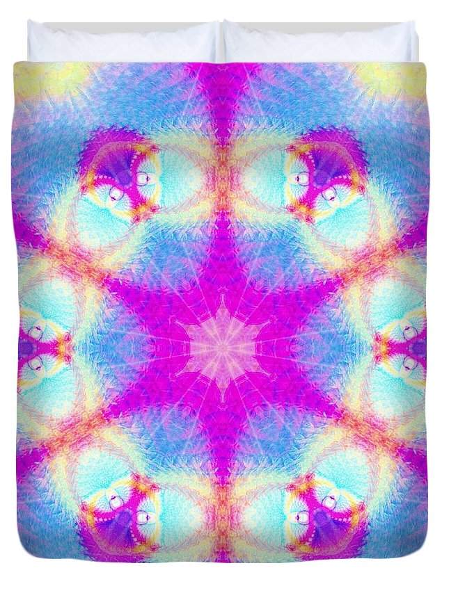 Essence Of Spirit Duvet Cover featuring the digital art Essence Of Spirit by Derek Gedney