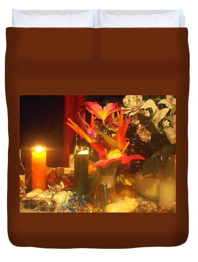 Duvet Cover featuring the photograph Eternally There by Jill Rucker Simmons