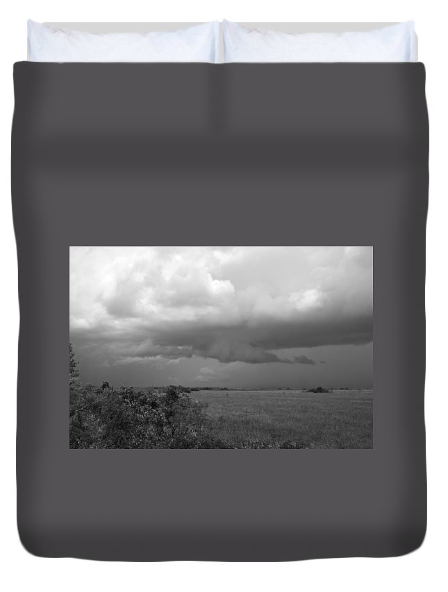 Everglades Duvet Cover featuring the photograph Everglades No.1 by John Greco