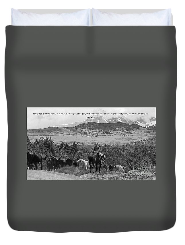 Prairie Duvet Cover featuring the photograph Everlasting Life by Janice Pariza
