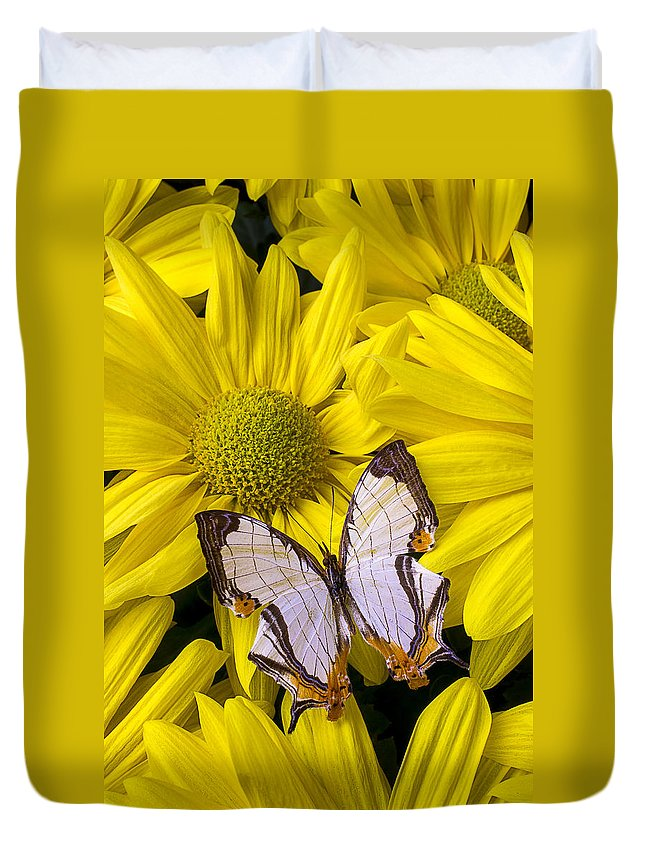 Exotic Duvet Cover featuring the photograph Exotic Butterfly by Garry Gay