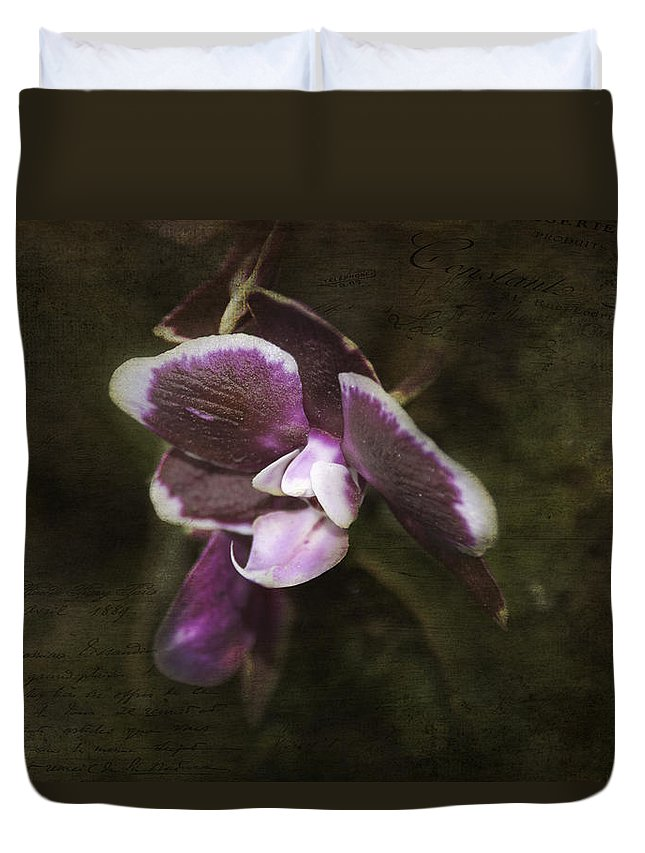 Exotic Duvet Cover featuring the photograph Exotic by Judy Hall-Folde