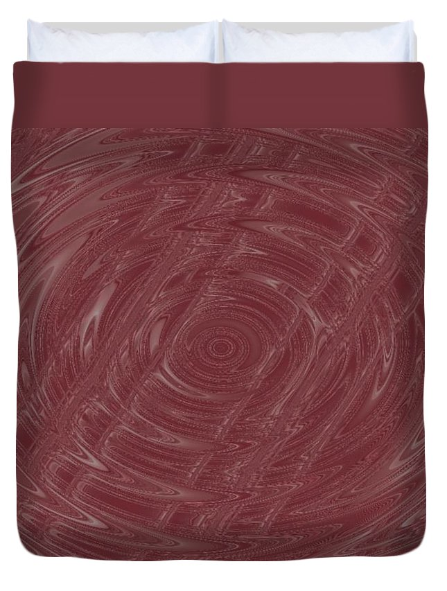 Abstract Duvet Cover featuring the digital art Eye In Vortex by Pharris Art