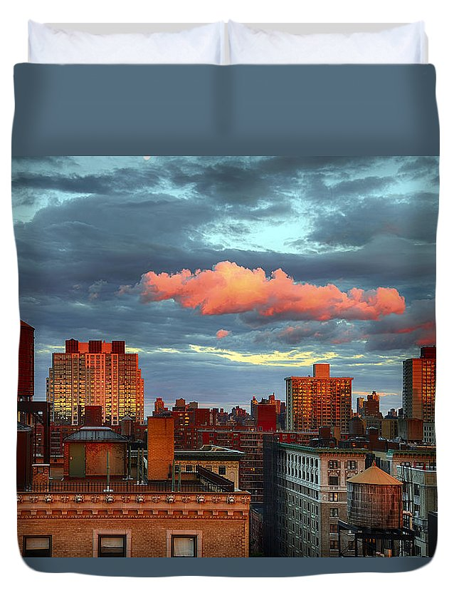 Tranquility Duvet Cover featuring the photograph Facing East by Joe Josephs Photography