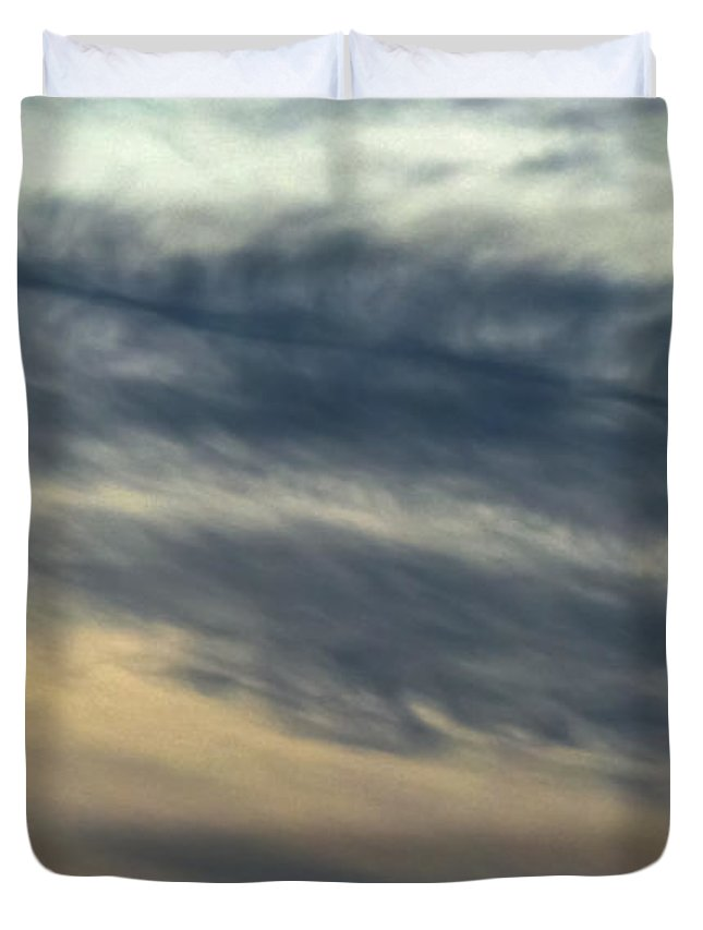 Winter Duvet Cover featuring the photograph Fade To Black by Charlie Cliques