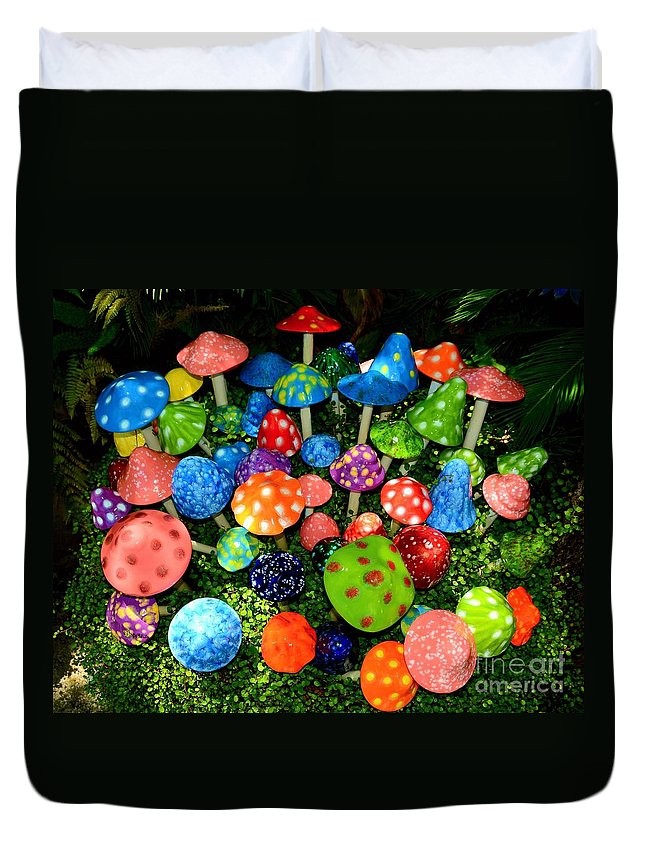 Fairy Kingdom Duvet Cover featuring the photograph Fairy Kingdom by Patrick Witz