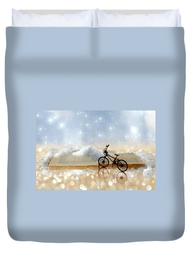 Still Life Duvet Cover featuring the photograph Fairytale by Heike Hultsch