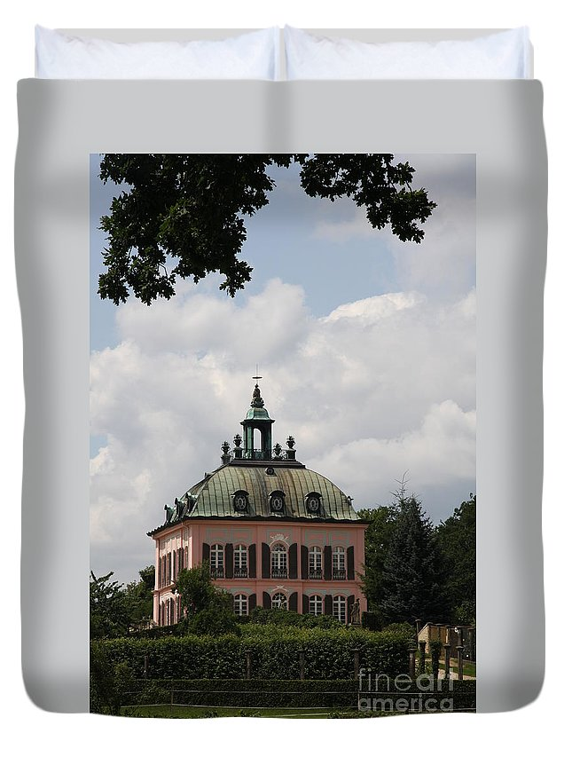 Palace Duvet Cover featuring the photograph Fasanen Schloesschen Germany  Pheasant Palace by Christiane Schulze Art And Photography