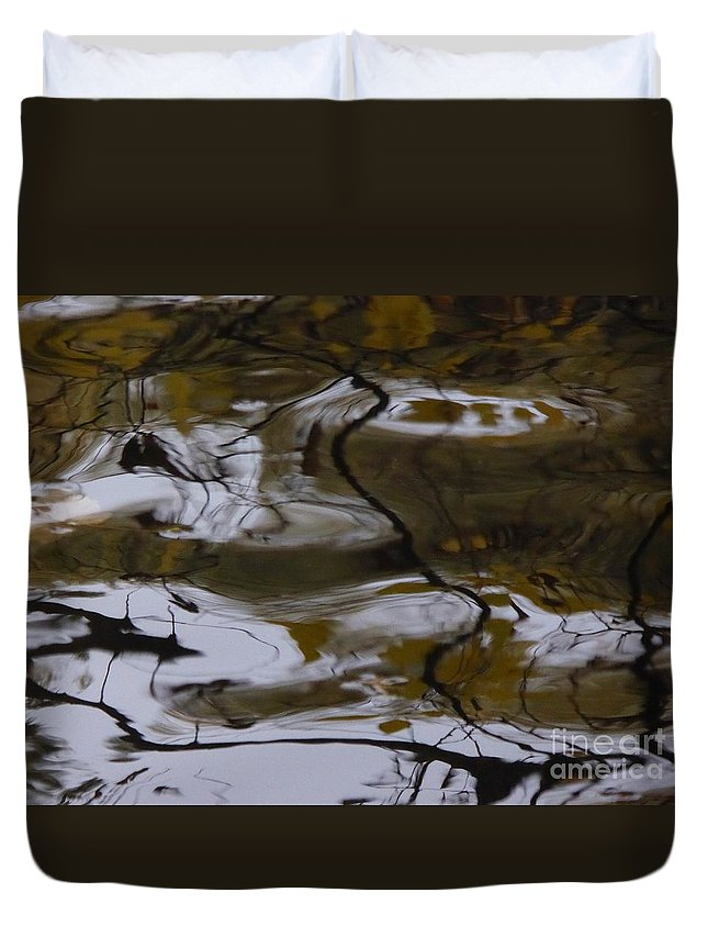Duvet Cover featuring the photograph Fells Like A Landscape by Nili Tochner