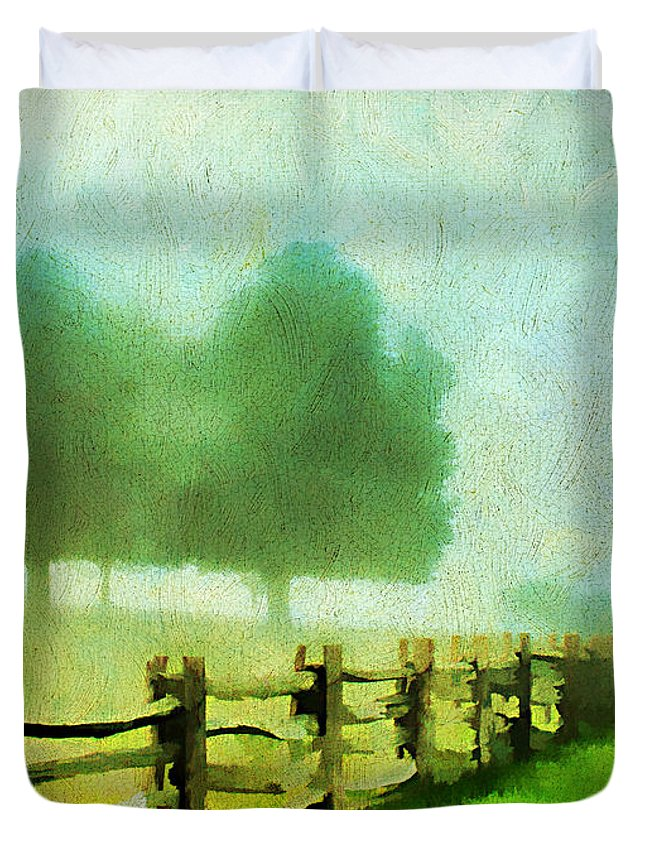 Beautiful Duvet Cover featuring the photograph Finding Your Way by Darren Fisher