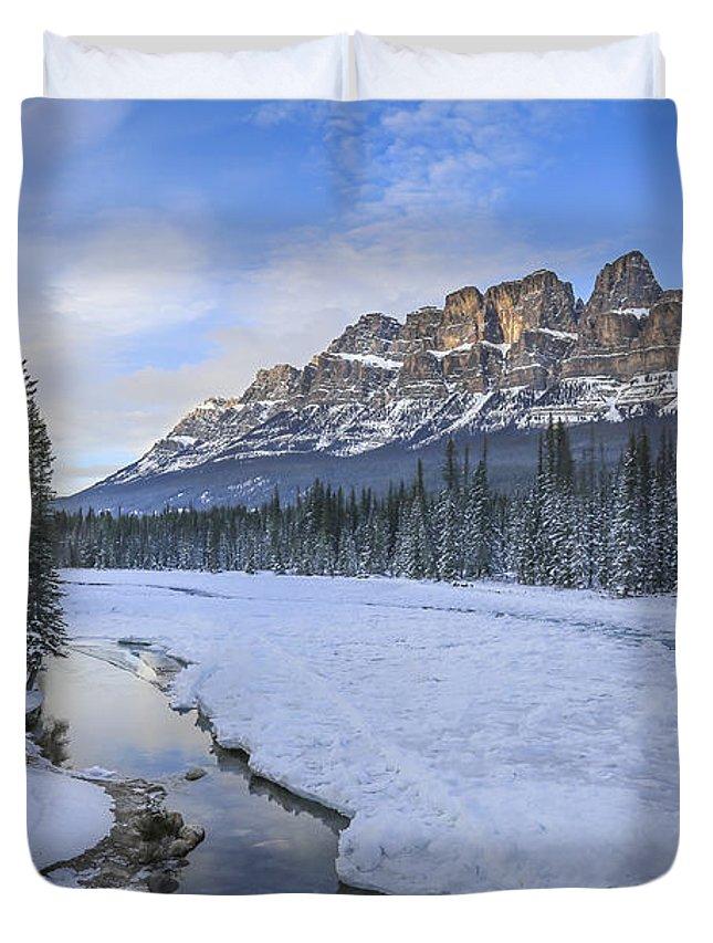 Canadian Rockies Duvet Covers